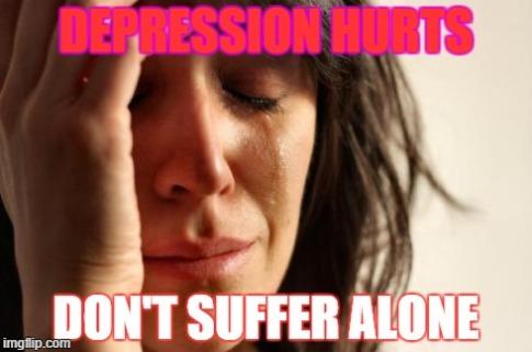 depression hurts
