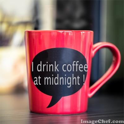 coffee at midnight