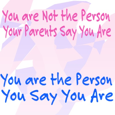 you are the person you say you are