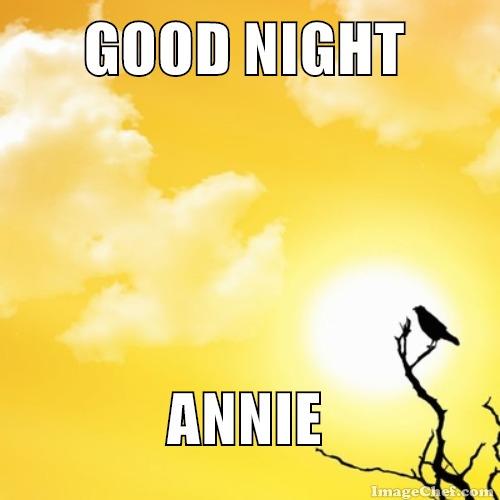 good night yellow