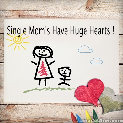single mom heart