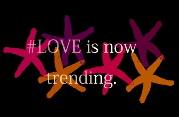 love is trending