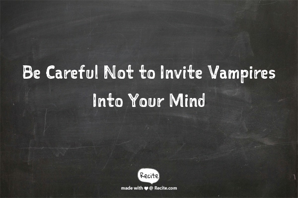 do not vampires in