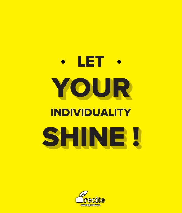 individ shine