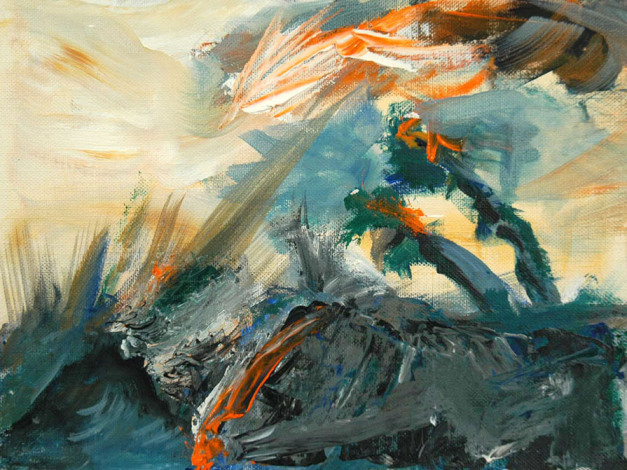 """""""Storm"""" Painting by Mark Eirhart From markeirhart.com"""