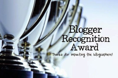 blogger recongnition award