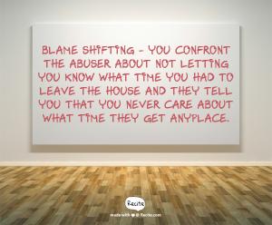 blame shiftin 6