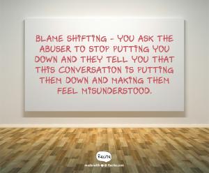 blame shifting 5