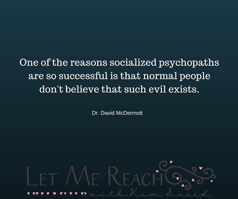 psychopath socialized