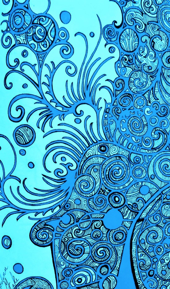 design edited blue
